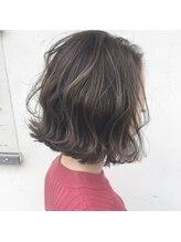 ナーリー(GNARLY Hair Design)切りっぱなしボブ