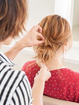 グラップ ヘアー メイク glap hair makeの写真/お客様一人ひとりの雰囲気やライフスタイルに合わせたスタイル提案が当店の人気のヒミツ・・☆