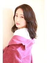 暗髪ASH☆グロッシーミディ♪