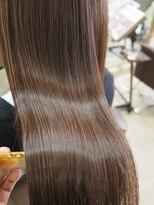 リリーズ ヘア(Lily's Hair)艶髪♪アプリコットブラウン