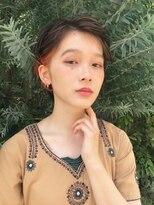 バルーンヘアー(BALLOON HAIR)【BALLOON HAIR】ショートアレンジ ポイントインナーカラー