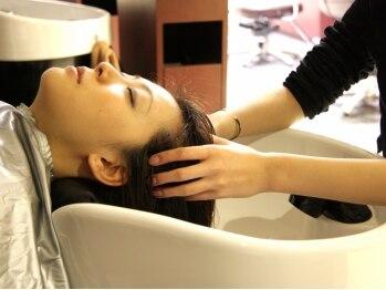 パースクープデュボーテ 名古屋駅店(PATH coupe de beaute')の写真/オーガニックで髪に優しく頭皮ケア★ヴィラロドラを中心に、炭酸スパやかっさも選べる充実のヘッドスパ♪