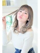 イクシェル 豊中店(IXCHEL)【イクシェル】style♪外国人風のアッシュカラー☆☆