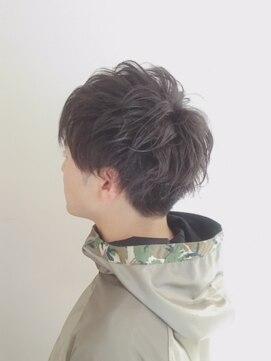 ブレッザヘアー(Brezza hair)パーマで作るマッシュスタイル×Brezza hair 笹塚