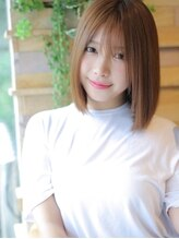 アグ ヘアー チャンプ 美里店(Agu hair champ)サラサラ×シースルーバングのナチュミディ