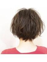 ソラ(SoRa)癖毛を活かしたショートボブ