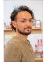 ネオヘアー 京成曳舟店(NEO Hair)【Men's hair】くせ毛風ニュアンスパーマ×2ブロックスタイル
