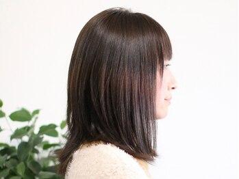 ルースト(ROOST)の写真/継続的にカラーする方へ★ダメージに配慮しながら鮮やかな発色と艶で美しい髪色を表現するカラーです。
