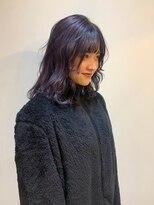 ストア バイ アンバースデー(Store by UNBIRTHDAY)パープル/ツヤカラー【新田知鶴】