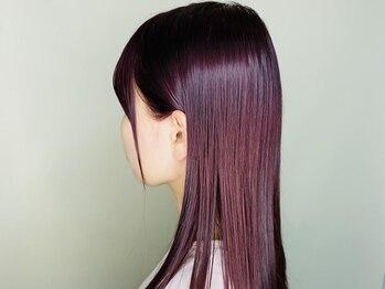 ワンヘアー(ONE HAIR)の写真/年齢と共に増える髪の悩みを「強み」に変えていくカラーを。いつまでも綺麗だねと言われる美しい髪に。