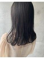 アピッシュ オモテサンドウ(apish omotesando)ブリーチなし☆ダスティラベンダーカラー