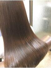 グリームス ヘアデザイン(GLEAMS Hair Design)【極ツヤ】キラ水ストレート&炭酸スパ