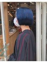 チカシツ(Chikashitsu)blue mini bob