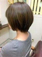 ファシオ ヘア デザイン(faccio hair design)ショート×イルミナカラー