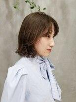 テトヘアー(teto hair)韓国 韓国ヘア 韓国スタイル ボブ タンバル ベージュ