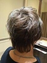 ヘアメイク アリエス 富谷店(HAIR MAKE aries)【aries富谷店】ミセススタイル★グレイヘア40代50代60代
