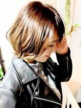 ヘアーアンドメイクボーノ(Hair & Make Buono)大人ボブ 3Dカラー プラチナアッシュ☆