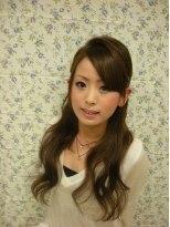 ヘアーメイク カリユ(HAIR MAKE kariyu)女子盛りハーフアップ