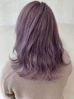 ソース ヘア アトリエ(Source hair atelier)【SOURCE】ラベンダーピンク