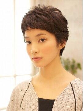 ベック ヘアサロン(BEKKU hair salon)黒髪が上品な大人エレガントショート☆オススメ簡単スタイリング
