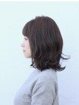 ユニカ ヘアー(UNICA hair)尾道市 人気 UNICA グラデーションカラー グレージュカラー