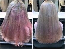 髪質改善と縮毛矯正の専門店 サンティエ(scintiller)の雰囲気(ダメージ毛も弱酸性縮毛矯正でツヤツヤに致します。)