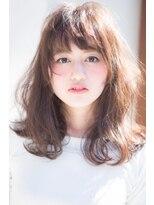 吉祥寺 アマンヘアー(Aman hair)ルーズ グラマラスXミルクティーカラー【Aman hair 吉祥寺】