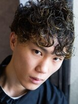 ヴィー ヘアー ファッション バー(VII hair.fashion.bar)VII hair「エッジランダムパーマ」1
