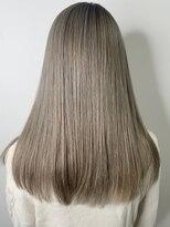 ソース ヘア アトリエ 京橋(Source hair atelier)【SOURCE】ミルクティーグレージュ