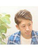 ロイ ヘアルーム 草加店(Roy hairroom)★ワイルドアップバング★