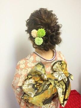結婚式 髪型 和装★和装STYLE