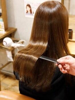 ヘア イコール(hair equal)の写真/【三国/髪質改善サロン】季節のダメージケアならhair equal☆高品質トリートメントで価格以上の仕上りに♪