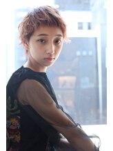 デジャヴ 千葉店【Dejave】くせ毛風スタイリングのエアリーショート@藤井仁紀