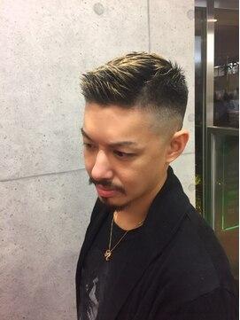 ヘアー ラボ エムツー(hair lab m2)ショートフェード