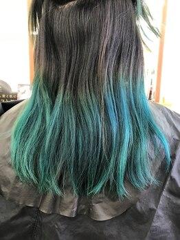 キャメルヘアー(Camel hair)の写真/【FIBRE PLEX】使用★ブリーチは傷むと思っていませんか?FIBRE PLEXでブリーチでも髪のダメージを軽減!!