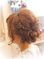ヘアセットサロン パスクア(Hair Set Salon Pasqua)ふわふわラブリーサイドアップ