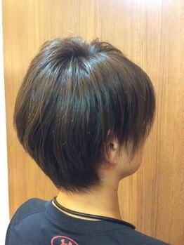ヘアリベーテ(hair Liberte)の写真/髪や頭皮に優しい<ヴィラロドラ>使用!しみにくい薬剤なので肌が敏感な方にもおすすめ◎