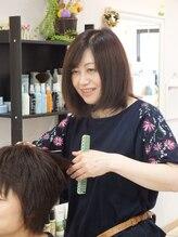 ヘアーサロン リベーヌ プラス 蕨駅東口村川 智佳子