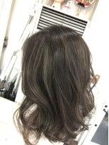 ヘアーデザイン キャンパス(hair design Campus)Rブリーチハイライト☆たっぷりハイライトonヌーディアッシュ