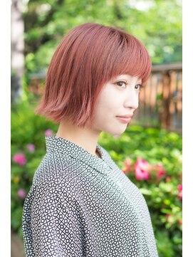 アリシアヘアー(ARISHIA hair)【ARISHIA hair 那珂】丸みショート 個性的 カール 大人ボブ ♪