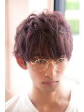モッズヘア 高崎店(mod's hair)【mod's hair 高崎】 ゆるふわマッシュ×ピンクパープル
