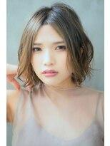 リル ヘアーデザイン(Rire hair design)【Rire-リル銀座-】ゆるふわくせ毛風ボブ