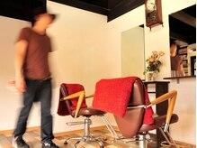 ルキャルム ヘアデザイン(le calme hair design)の雰囲気(一人でやっているので、くつろげる空間です。)