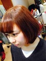 ヘアーズ ムー 藤井寺店(hair's Muu+)フェミニンボブ♪