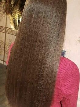 ヘアーデザイン ポポラリタ(Hair Design Popolarita)の写真/【東口徒歩3分】話題のTOKIO(トキオ)トリートメントでつるんと美髪に髪質改善★冬の乾燥に負けない◎