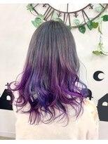 ヘアーサロン エール 原宿(hair salon ailes)(ailes 原宿)style432 ヴァイオレット☆デザインカラー