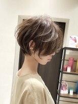 バンプ 銀座(BUMP)《30代40代》ひし形+ショートパーマ+毛束感【浦野】