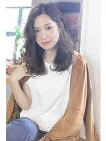 【viewt hair】 福山市 ヴィンテージベージュ×ラフウェーブ