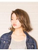 ムード 金沢文庫 hairdesign&clinic mu;dJELLY風グラマラスボブ