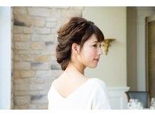 ヘアメーク マーサ 成田ユアエルム店(Hair Make MASA)の雰囲気(結婚式・各種イベントむけのヘアセットも承ります。)
